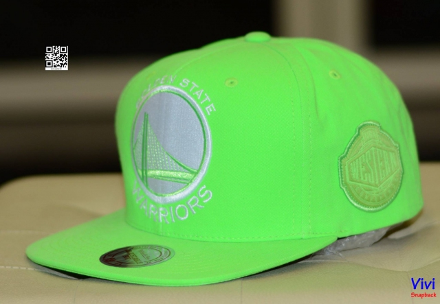Mitchell & Ness Warriors Neon Snapback