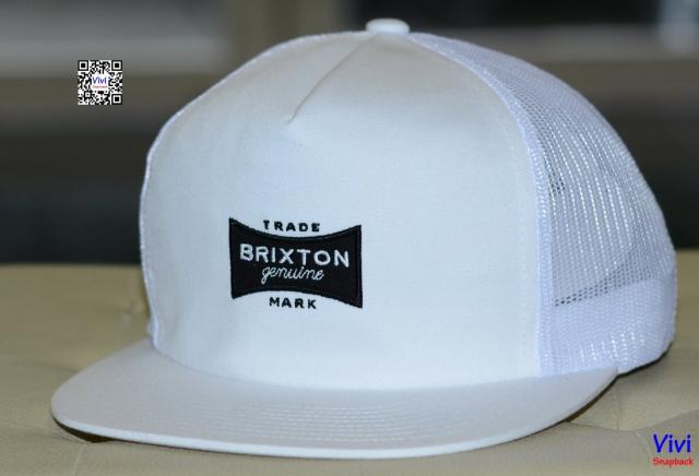Brixton Ramsey Trucker Snapback White
