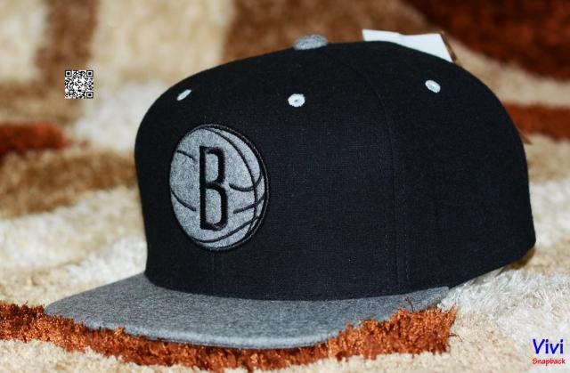 Mitchell & Ness Brooklyn Nets Snapback Wool