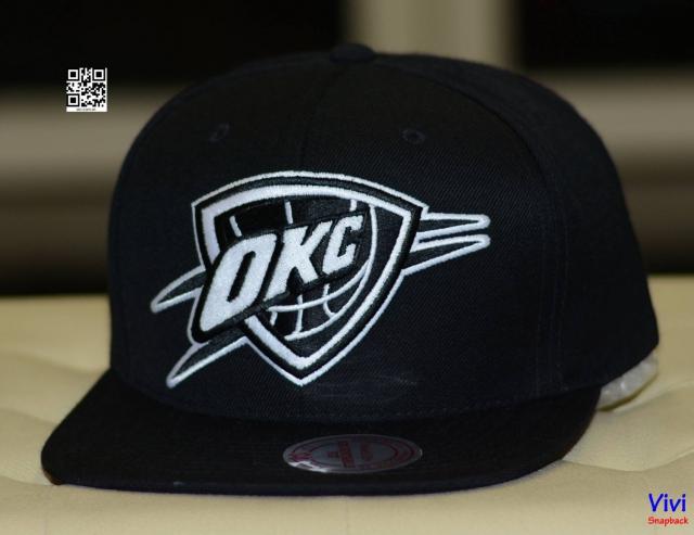 Mitchell & Ness OKC Big Logo Snapback