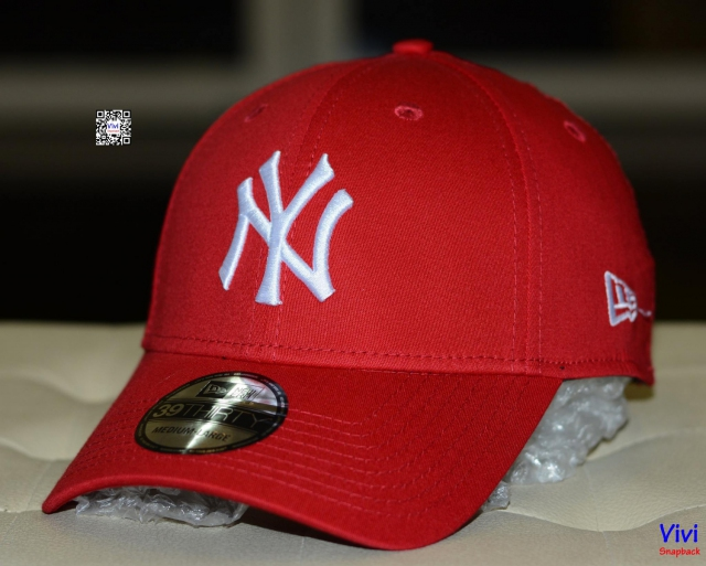 Nón NY New Era Fitted Red