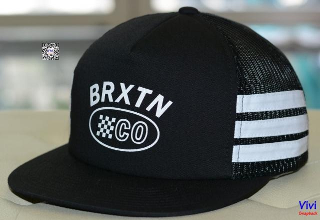 Brixton Pilsner 2 Trucker Black/White Snapback