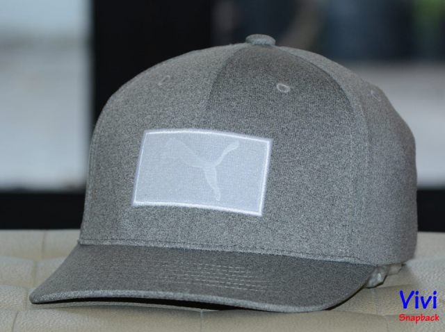Puma Golf Utility Patch Cap Grey