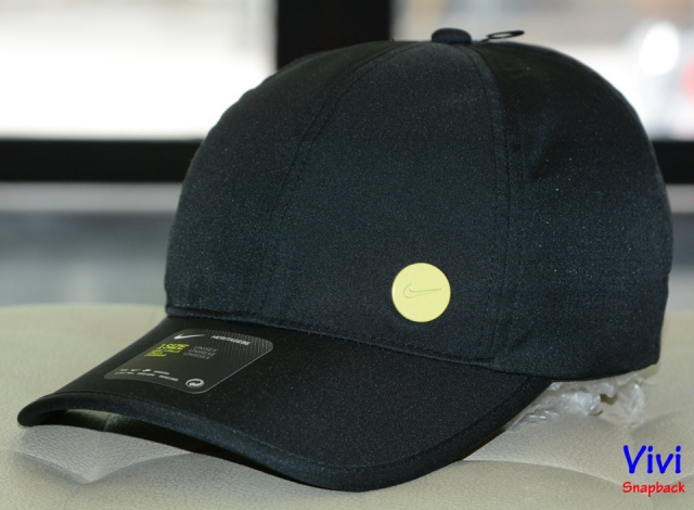 Nón Nike Heritage 86 Cap Yellow Circle Logo/ Black