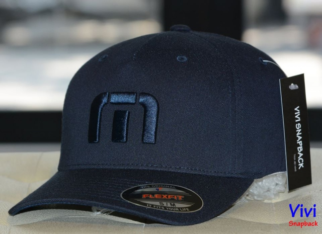 Nón Travis Mathew Van Dyke Fitted Cap Navy