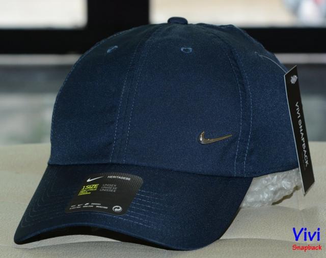 Nike Metal Swoosh Heritage 86 Cap Navy
