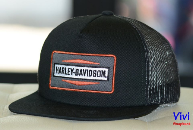 Harley-Davidson Men's Stacked Graphic Foam Snapback