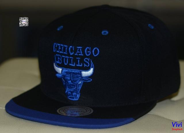 Mitchell & Ness Chicago Bulls Snapback Navy/Balck