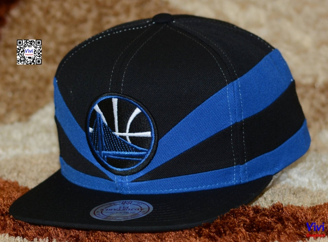 Mitchell & Ness Golden State Warriors NBA Slasher Snapback