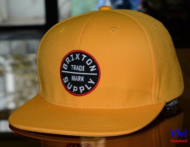 Brixton OATH III Yellow Snapback
