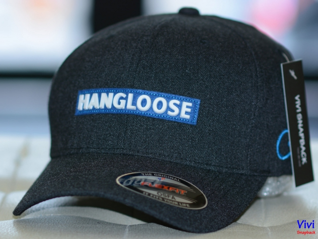 Nón HangLoose Flexfit Dark Grey Cap