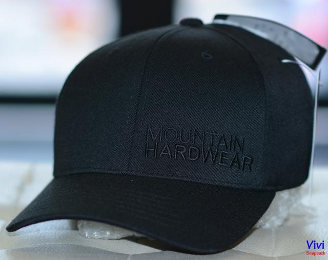 Nón Mountain Hardwear Baseball Cap Full Black
