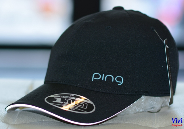 Nón Ping Performance 110 Golf Cap Black