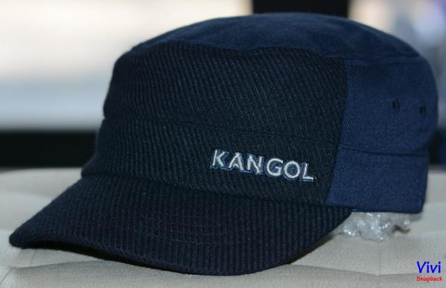 Nón mỏ cục Textured Wool Army Cap Navy