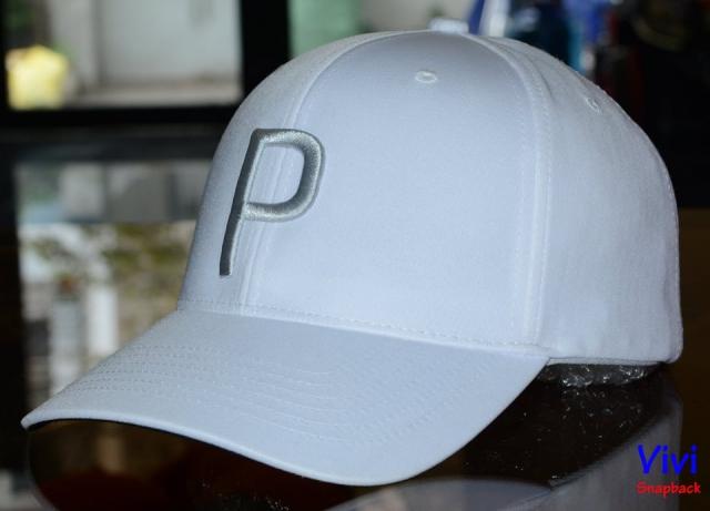 Puma Cap White P