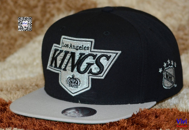 Mitchell & Ness Los Angeles Kings Team Colors The XL 2 Tone Snapback
