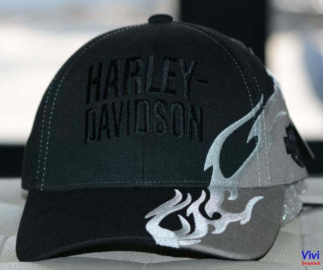 Nón Harley-Davidson Side Flame Cap ( 99417-16VM )