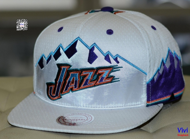 Mitchell & Ness Utah Jazz NBA Jersey Mesh Hook Snapback