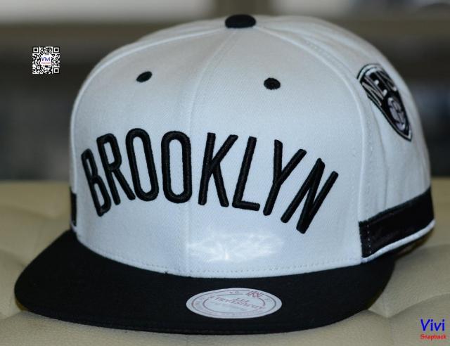 Mitchell & Ness Brooklyn Nets NBA Game Day Snapback