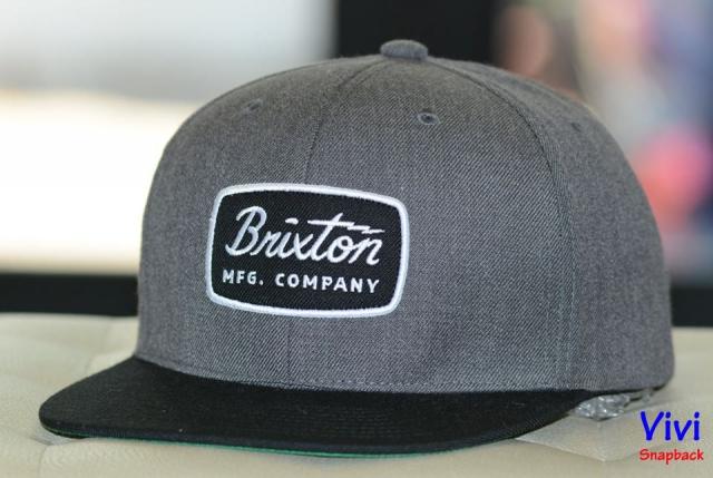 Brixton Jolt  Dark Gray/ Black Snapback