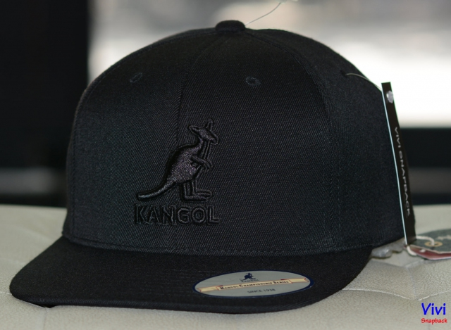 Snapback Kangol Championship Links Full Black