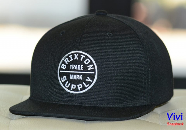 Brixton OATH III Black Snapback
