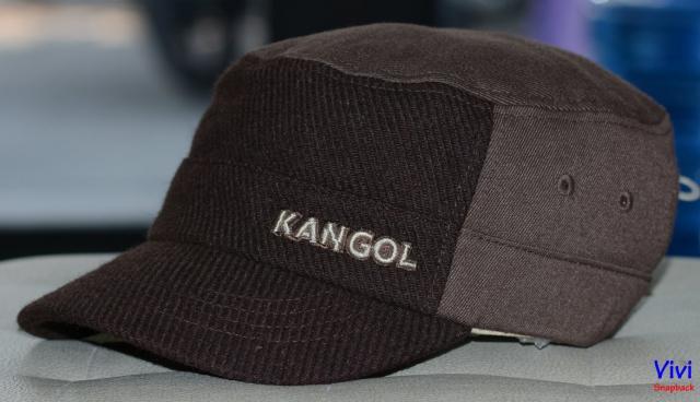 Mũ mỏ ngắn Textured Wool Army Cap Brown