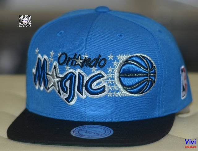Mitchell & Ness Orlando Magic Excel logo 2 tone Blue Snapback