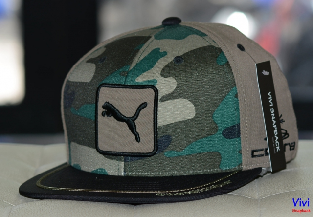 Nón Snapback Puma Cat Patch Camo Cobra