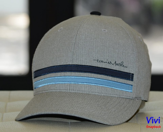 Travis Mathew Hout Fitted Cap Grey