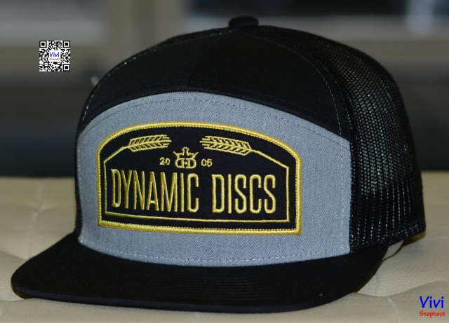 Dynamic Discs Wheat Arched Trucker Snapback