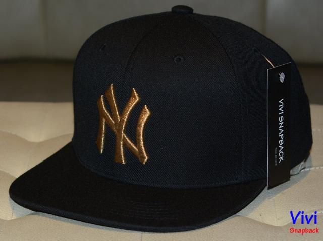 NY _ MLB Black Snapback G