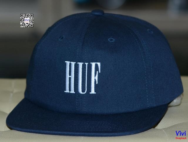 HUF Classic Strapback ( Xanh Navy đậm )