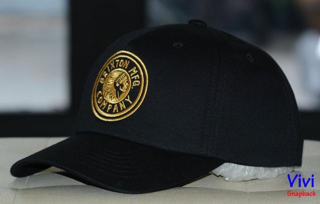 Brixton Rival Black Cap