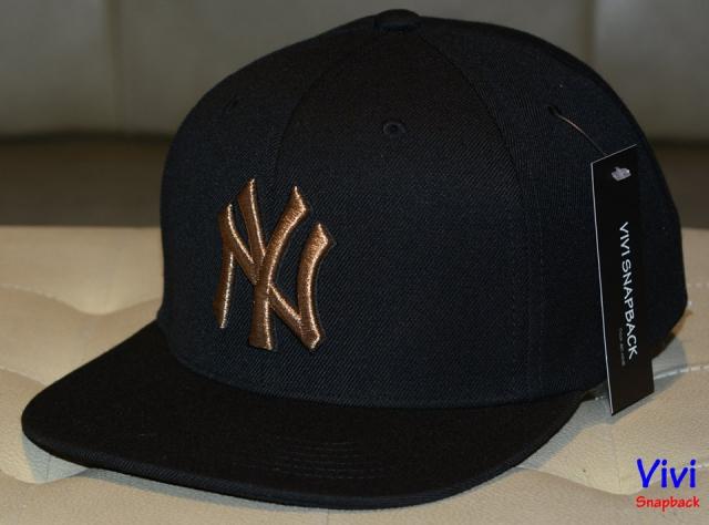 NY _ MLB Black Snapback