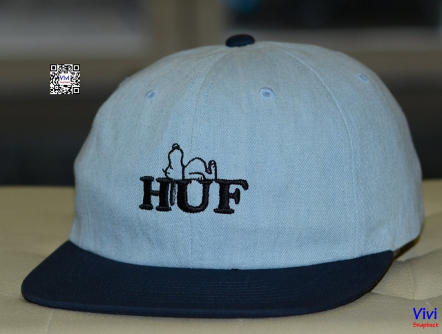 HUF Denim Strapback