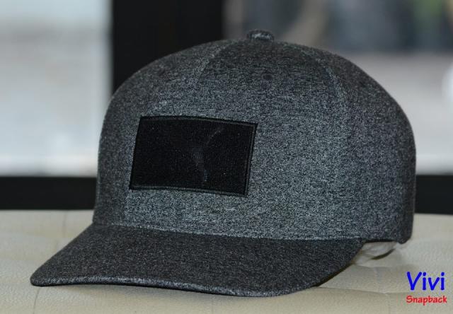 Puma Golf Utility Patch Cap Black