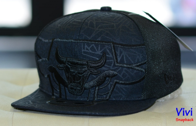 Chicago Bulls Big Logo Trucker Snapback