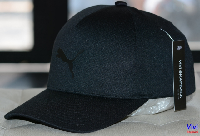 Nón Puma Flexfit Delta Fitted Cap Full Black