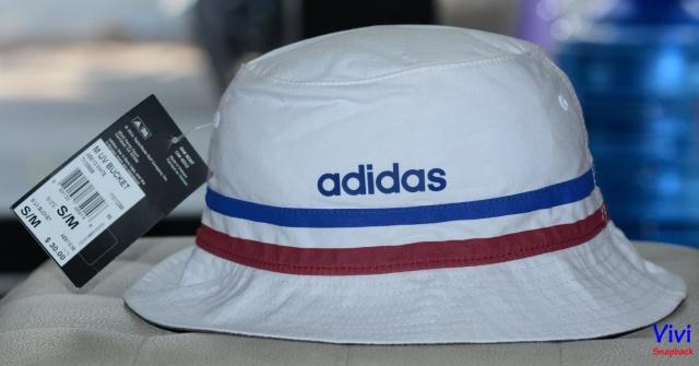 Bucket Adidas UV Hat White