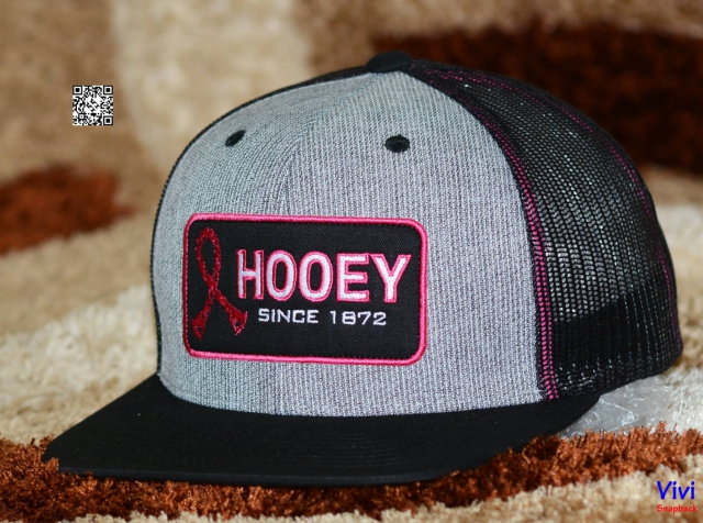 Hooey Tough Enough to Wear Pink Trucker Snapback