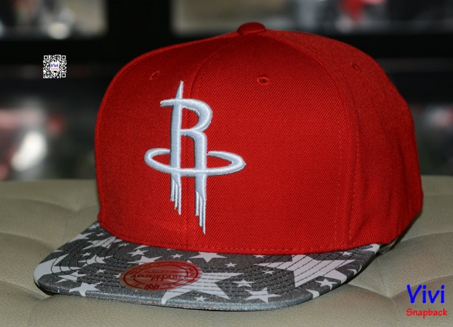 Mitchell & Ness Houston Rockets Snapback