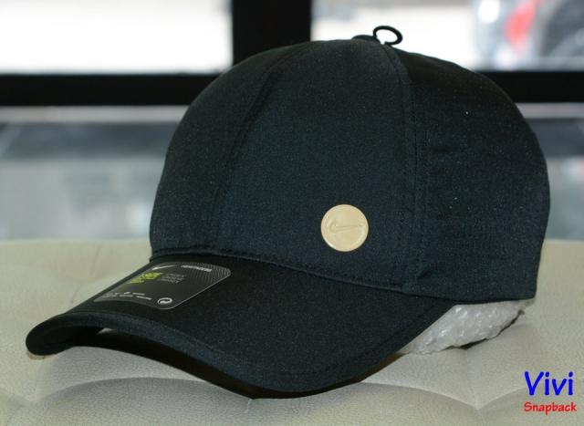 Nón Nike Heritage 86 Cap Nude Circle Logo/ Black