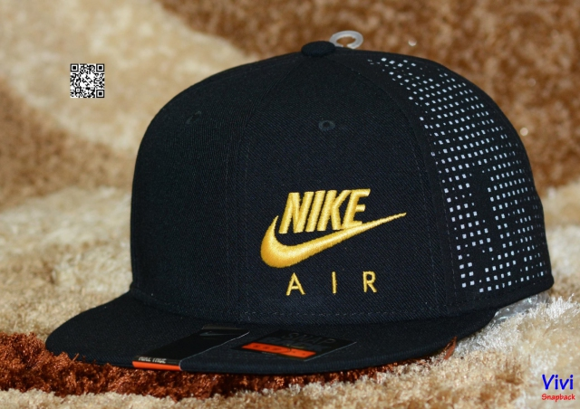 Nike Air Hybrid True Snapback Black