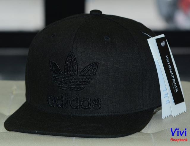 Adidas Logo Black Snapback