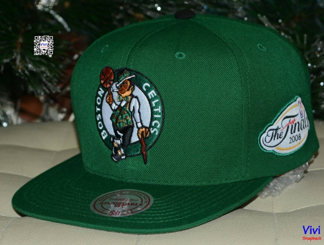 Mitchell & Ness Boston Celtics The Final Snapback