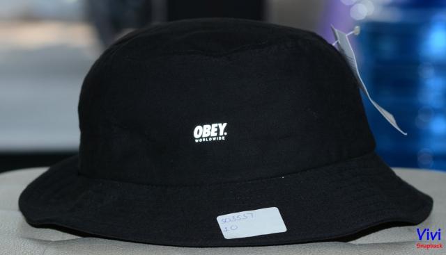 Obey Worldwide Bucket Hat 3M Reflective Branding