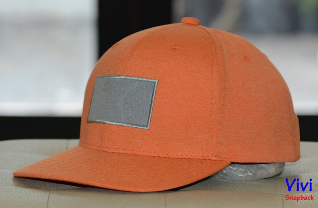 Puma Golf Utility Patch Cap Orange