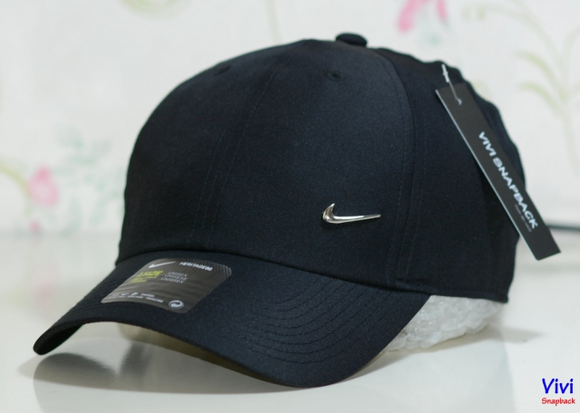 Nike Metal Swoosh Heritage 86 Cap Black