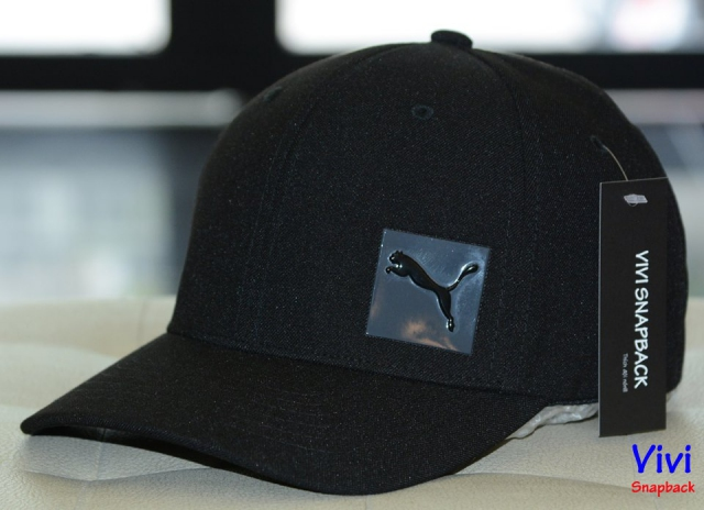 Puma Decimal Fitted Cap Black